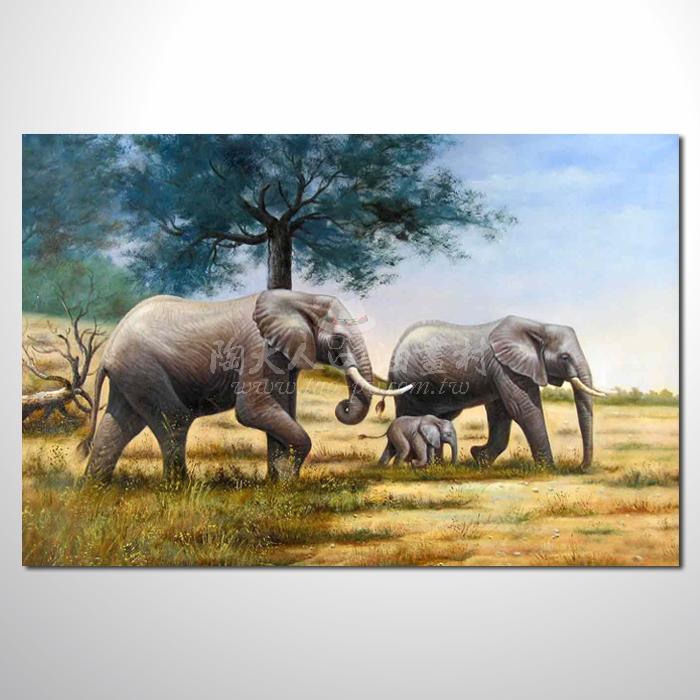 精緻動物 大象參考圖01 ☆名家推薦、提供客製化臨摹、風水開運招財等創作純手繪 , 適居家百業 , 物美價廉 , 可量身訂做 , 畫一張有人生意義的故事畫!