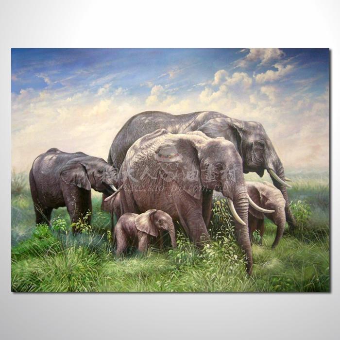 精緻動物 大象參考圖05 ☆名家推薦、提供客製化臨摹、風水開運招財等創作純手繪 , 適居家百業 , 物美價廉 , 可量身訂做 , 畫一張有人生意義的故事畫!