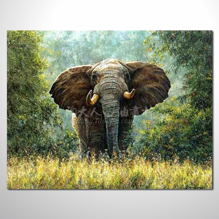 精緻動物 大象參考圖19 ☆名家推薦、提供客製化臨摹、風水開運招財等創作純手繪 , 適居家百業 , 物美價廉 , 可量身訂做 , 畫一張有人生意義的故事畫!