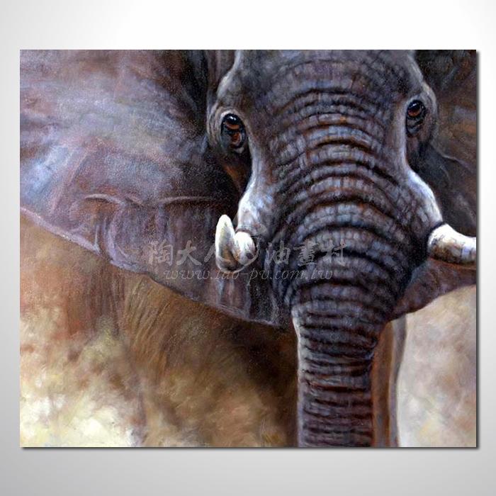 精緻動物 大象參考圖23 ☆名家推薦、提供客製化臨摹、風水開運招財等創作純手繪 , 適居家百業 , 物美價廉 , 可量身訂做 , 畫一張有人生意義的故事畫!
