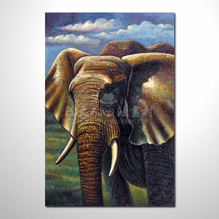 精緻動物 大象參考圖40 ☆名家推薦、提供客製化臨摹、風水開運招財等創作純手繪 , 適居家百業 , 物美價廉 , 可量身訂做 , 畫一張有人生意義的故事畫!