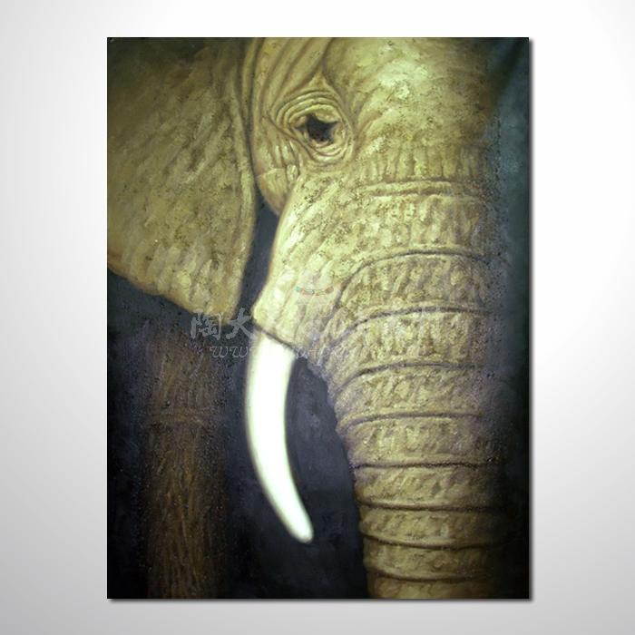 精緻動物 大象參考圖42 ☆名家推薦、提供客製化臨摹、風水開運招財等創作純手繪 , 適居家百業 , 物美價廉 , 可量身訂做 , 畫一張有人生意義的故事畫!
