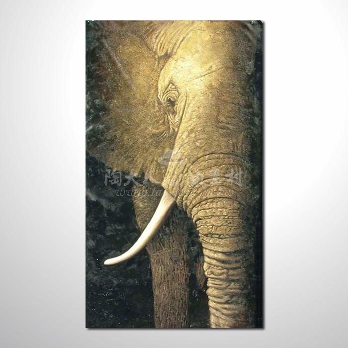 精緻動物 大象參考圖45 ☆名家推薦、提供客製化臨摹、風水開運招財等創作純手繪 , 適居家百業 , 物美價廉 , 可量身訂做 , 畫一張有人生意義的故事畫!