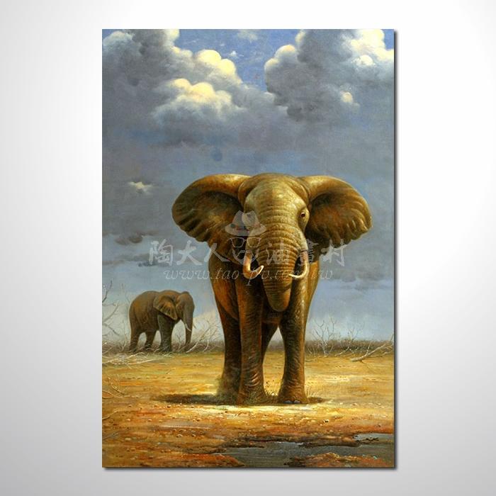 精緻動物 大象參考圖47 ☆名家推薦、提供客製化臨摹、風水開運招財等創作純手繪 , 適居家百業 , 物美價廉 , 可量身訂做 , 畫一張有人生意義的故事畫!