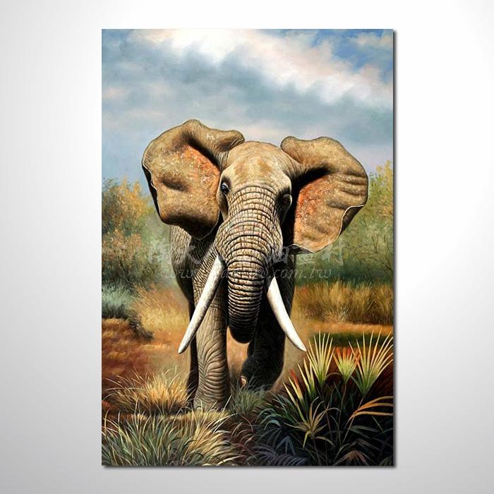 精緻動物 大象參考圖49 ☆名家推薦、提供客製化臨摹、風水開運招財等創作純手繪 , 適居家百業 , 物美價廉 , 可量身訂做 , 畫一張有人生意義的故事畫!