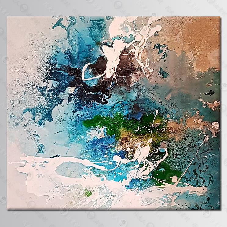 抽象画参考图378 纯手绘油画客制化,提供相片,无所不画,各式画作