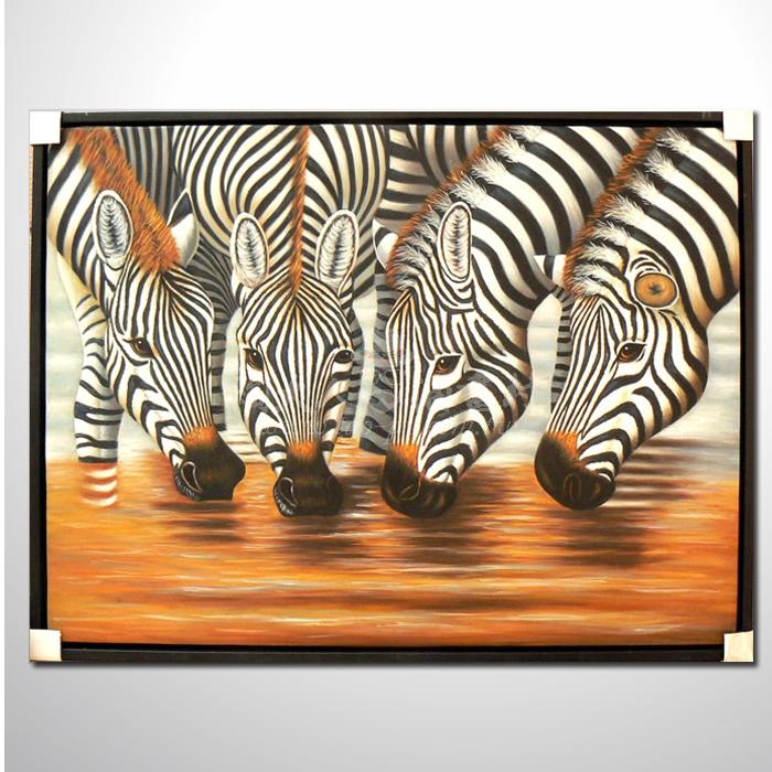 精緻動物 斑馬參考圖64 ☆本村提供客製化臨摹畫創作純手繪圖畫 , 歡迎各行業選購!