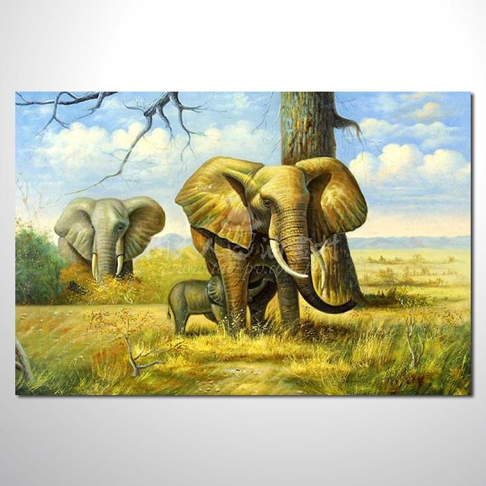 精緻動物 大象參考圖63 ☆名家推薦、提供客製化臨摹、風水開運招財等創作純手繪 , 適居家百業 , 物美價廉 , 可量身訂做 , 畫一張有人生意義的故事畫!