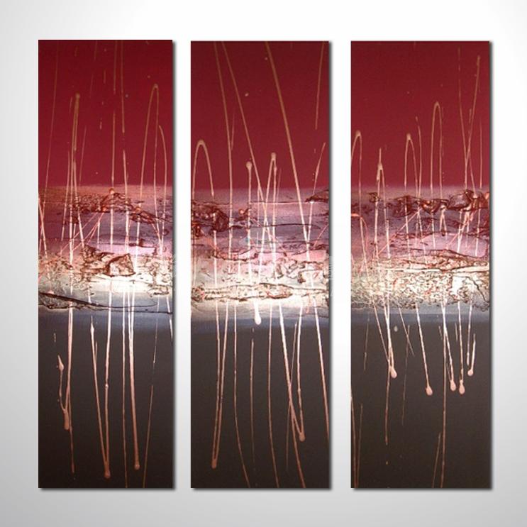 精緻3拼抽象13 參考圖☆名家推薦、本村提供客製化臨摹、風水開運招財等創作純手繪圖畫 , 萬種油畫 , 種類齊全 , 適居家百業 , 物美價廉 , 可量身訂做!
