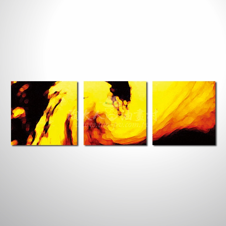 精緻3拼抽象24 參考圖☆名家推薦、本村提供客製化臨摹、風水開運招財等創作純手繪圖畫 , 萬種油畫 , 種類齊全 , 適居家百業 , 物美價廉 , 可量身訂做!