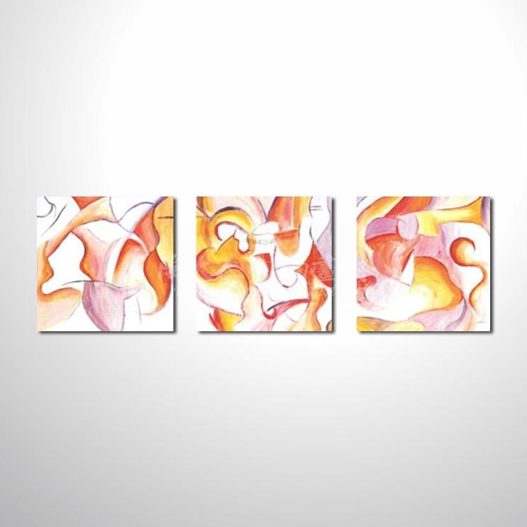 精緻3拼抽象33 參考圖☆本村提供客製化臨摹、風水開運招財等創作純手繪圖畫 , 名家推薦 , 歡迎選購!