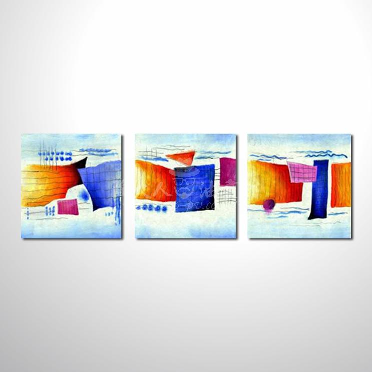 精緻3拼抽象34 參考圖 純手繪☆只要提供相片、圖像…就能讓您留下美好的記憶。