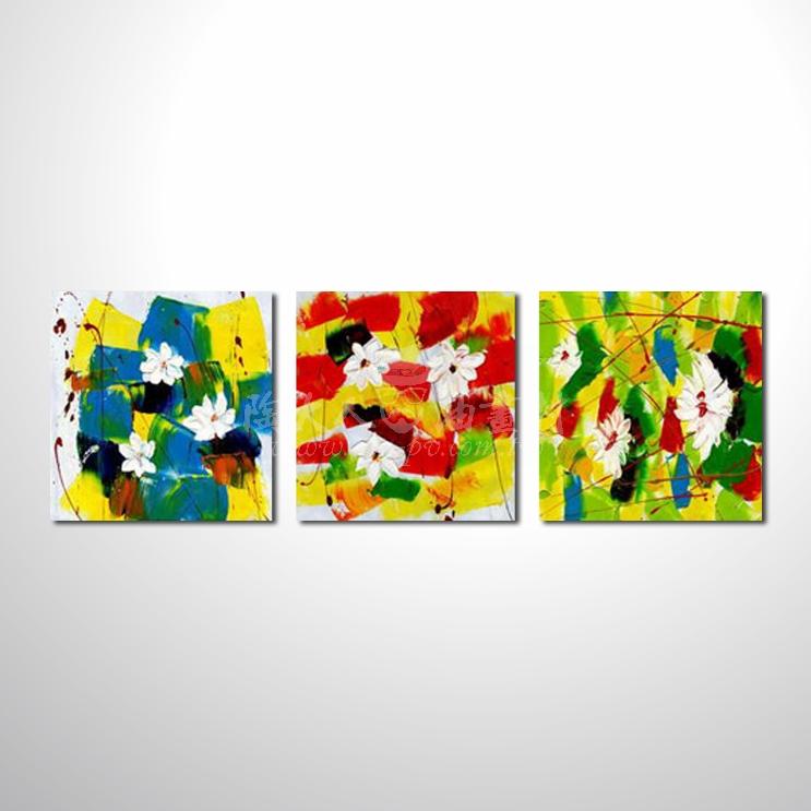精緻3拼抽象48 參考圖 純手繪 ☆名家推薦、您只要提供相片、字畫、圖像…就能讓您進入留下人生青春、意境、懷舊、紀念的時光。