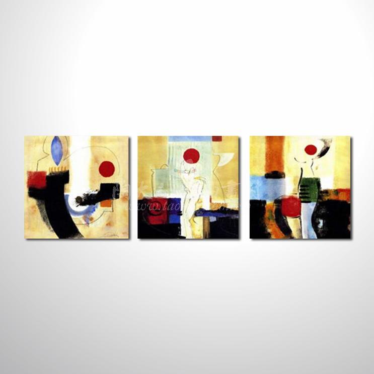 精緻3拼抽象60 參考圖☆本村提供客製化臨摹、風水開運招財等創作純手繪圖畫 , 名家推薦 , 歡迎選購!