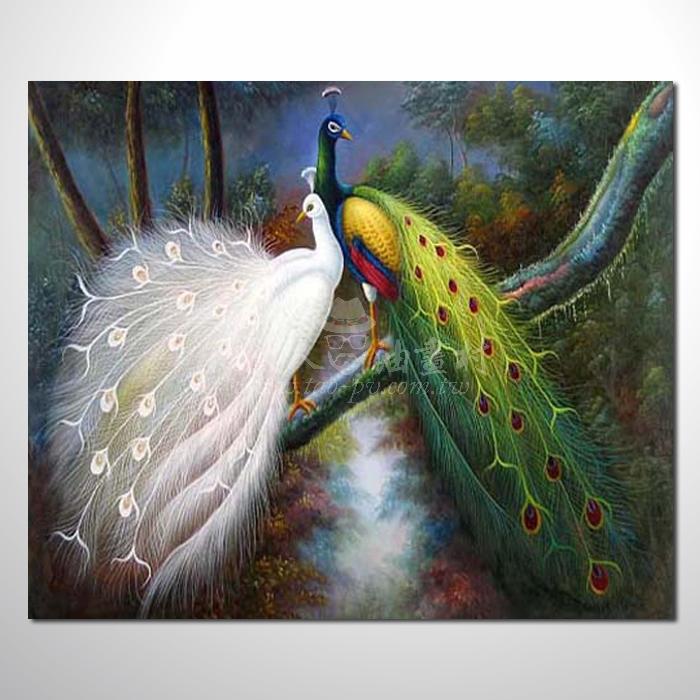 精緻動物 孔雀參考圖72 ☆本村提供客製化臨摹畫創作純手繪圖畫 , 歡迎各行業選購!