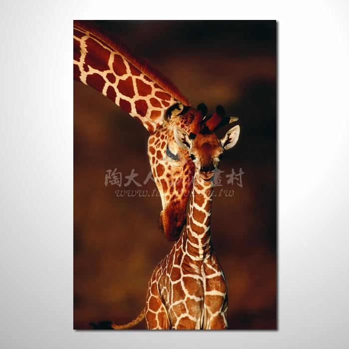 精緻動物 鹿參考圖96 ☆本村提供客製化臨摹畫創作純手繪圖畫 , 歡迎各行業選購!