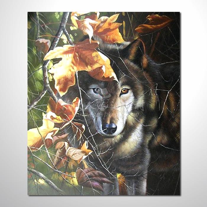 精緻動物 狼參考圖104 ☆本村提供客製化臨摹畫創作純手繪圖畫 , 歡迎各行業選購!