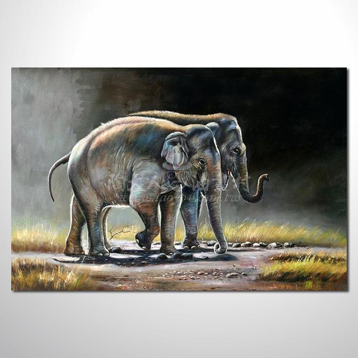 精緻動物 大象參考圖106 ☆名家推薦、提供客製化臨摹、風水開運招財等創作純手繪 , 適居家百業 , 物美價廉 , 可量身訂做 , 畫一張有人生意義的故事畫!