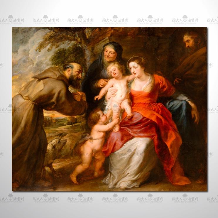 宗教 宮廷畫105參考圖  ☆純手繪、只要提供相片、圖像…就能讓您留下美好的記憶。