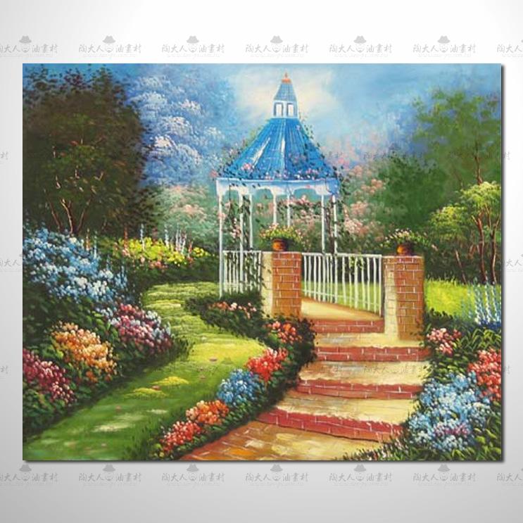 托馬斯花園參考圖 09 ☆本村的臨摹畫作皆一筆一劃辛苦純手繪而成 , 非複印品。