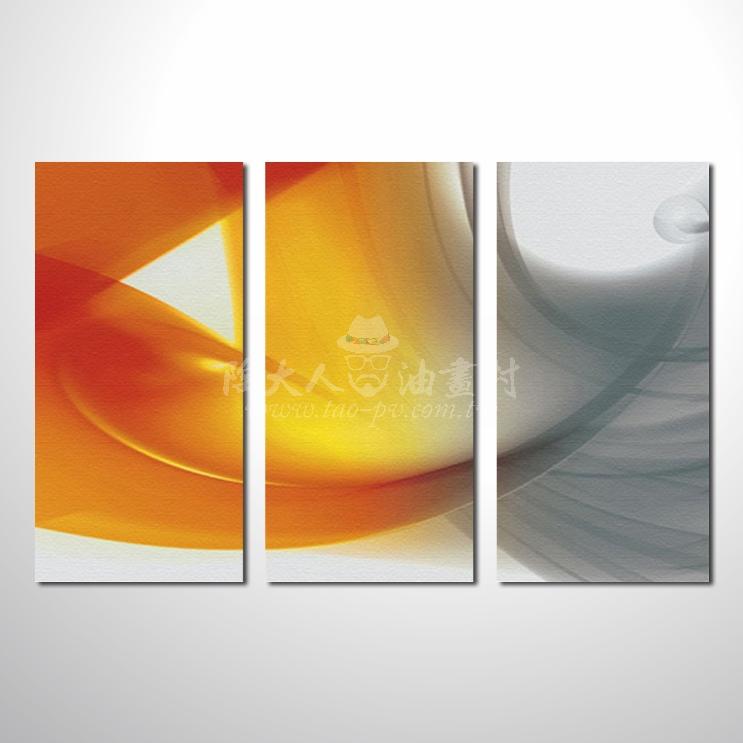 精緻3拼抽象72 參考圖☆本村提供客製化臨摹、風水開運招財等創作純手繪圖畫 , 名家推薦 , 歡迎選購!