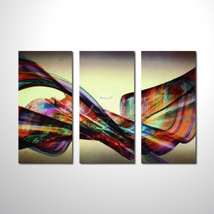 精緻3拼抽象77 參考圖☆本村提供客製化臨摹、風水開運招財等創作純手繪圖畫 , 名家推薦 , 歡迎選購!
