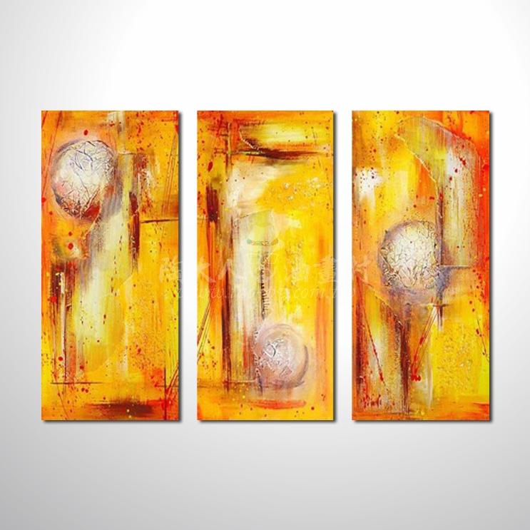 精緻3拼抽象91 參考圖☆本村提供客製化臨摹、風水開運招財等創作純手繪圖畫 , 名家推薦 , 歡迎選購!