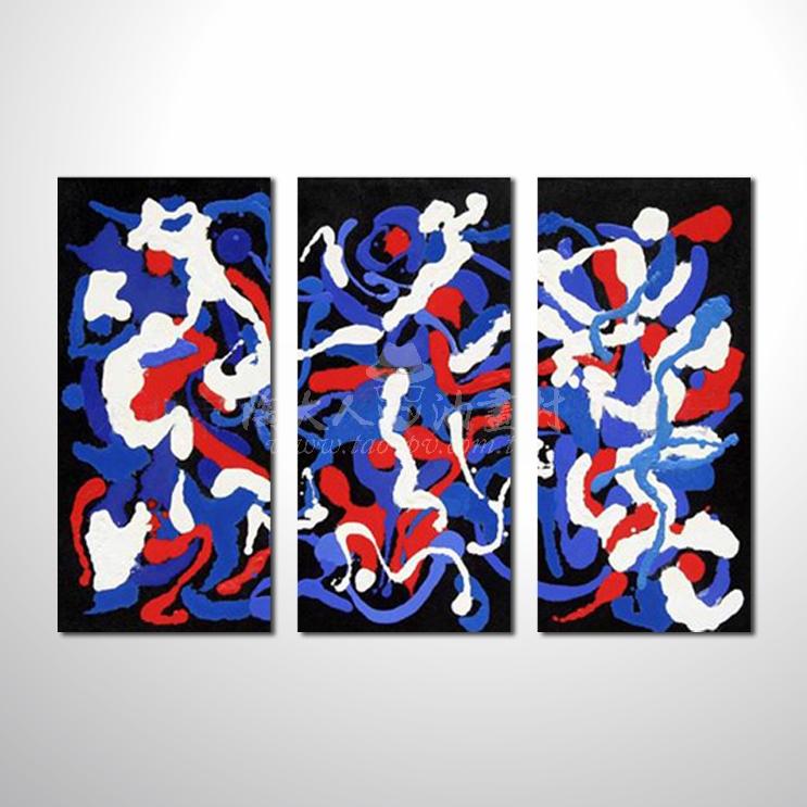 精緻3拼抽象94 參考圖☆本村提供客製化臨摹、風水開運招財等創作純手繪圖畫 , 名家推薦 , 歡迎選購!
