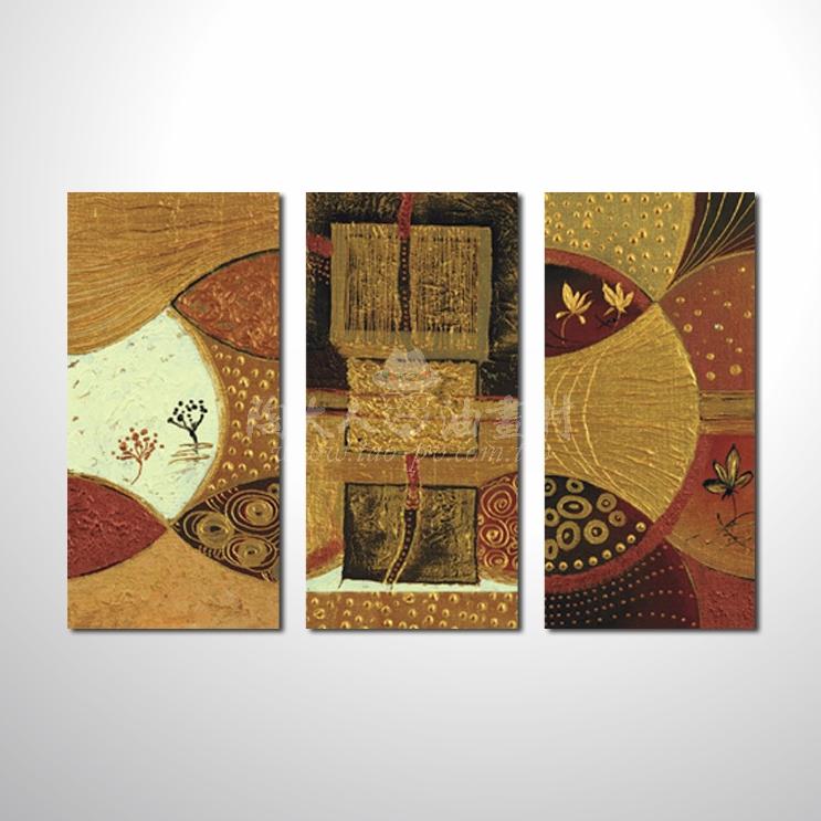 精緻3拼抽象103 參考圖☆本村提供客製化臨摹、風水開運招財等創作純手繪圖畫 , 名家推薦 , 歡迎選購!