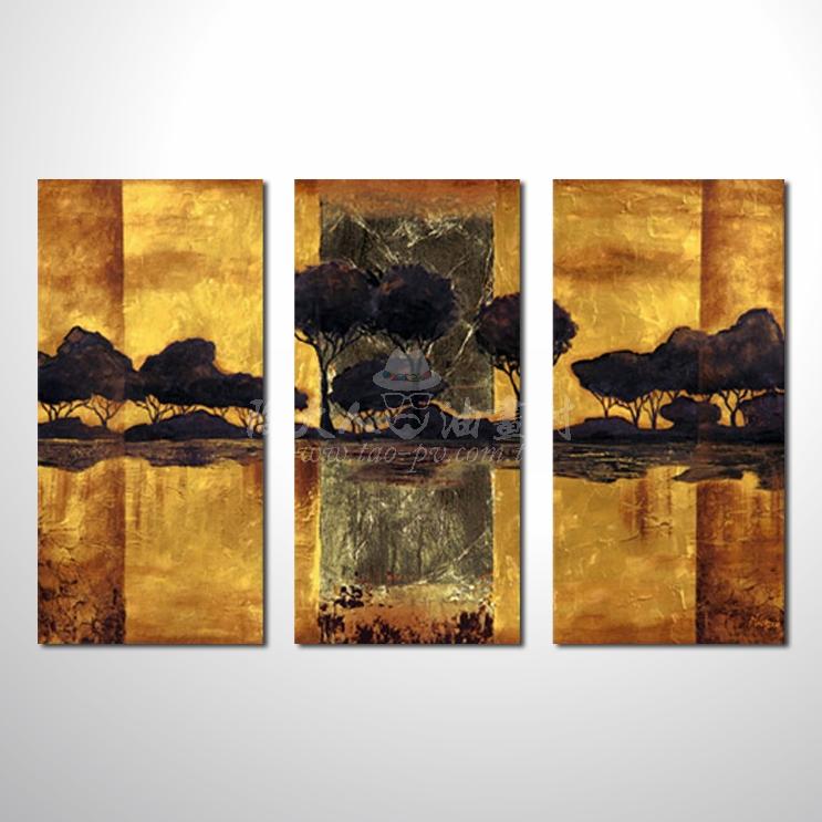 精緻3拼抽象128 參考圖 純手繪 ☆本村提供客製化臨摹畫創作純手繪圖畫 , 歡迎訂購!