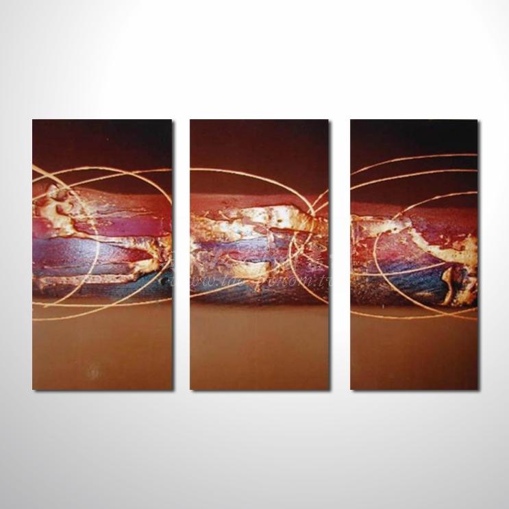 精緻3拼抽象134 參考圖☆名家推薦、本村提供客製化臨摹、風水開運招財等創作純手繪圖畫 , 萬種油畫 , 種類齊全 , 適居家百業 , 物美價廉 , 可量身訂做!