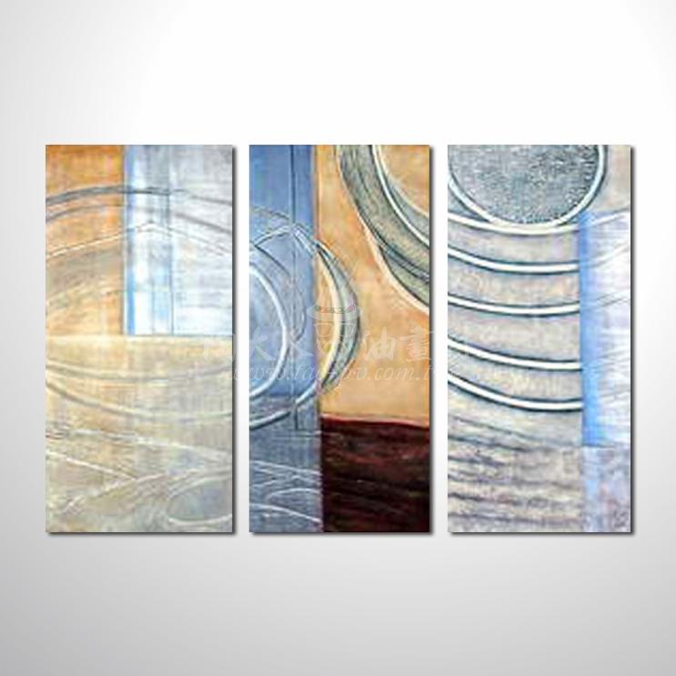 精緻3拼抽象135 參考圖☆本村提供客製化臨摹、風水開運招財等創作純手繪圖畫 , 名家推薦 , 歡迎選購!