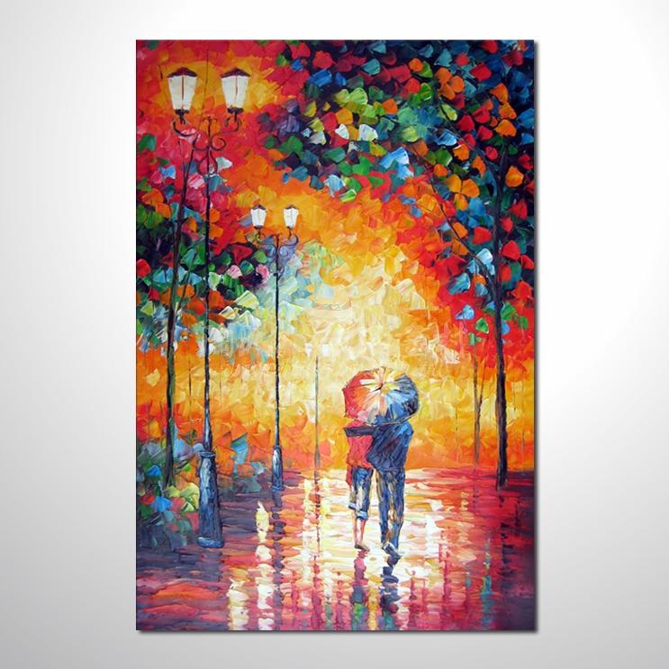 精彩雨中情參考圖06 純手繪 ☆畫一張有情趣、有人生色彩的故事畫!