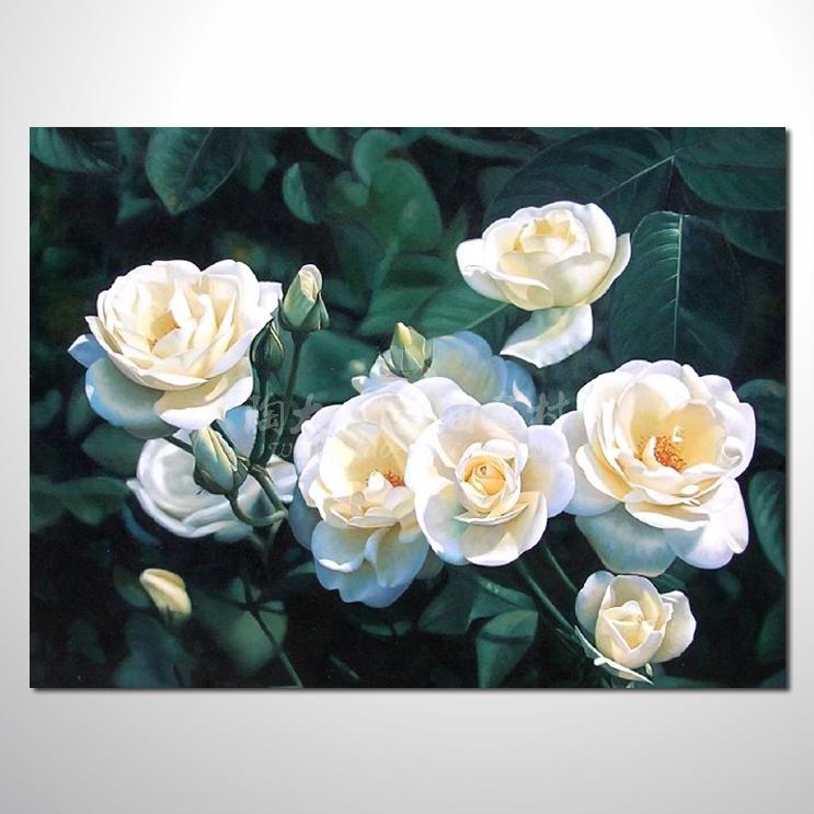 【陶大人油画村】欧洲写实花卉46 ☆本村提供客制化临摹,招财画创作纯
