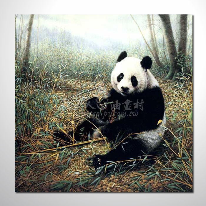 精緻動物 熊猫參考圖112☆名家推薦、提供客製化臨摹、風水開運招財等創作純手繪 , 適居家百業 , 物美價廉 , 可量身訂做 , 畫一張有人生意義的故事畫!