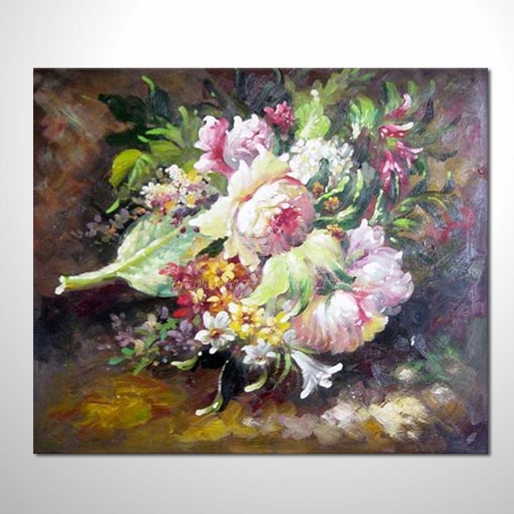 歐洲印象花卉6參考圖 08 ☆本村的臨摹畫作皆一筆一劃辛苦純手繪而成 , 非複印品。
