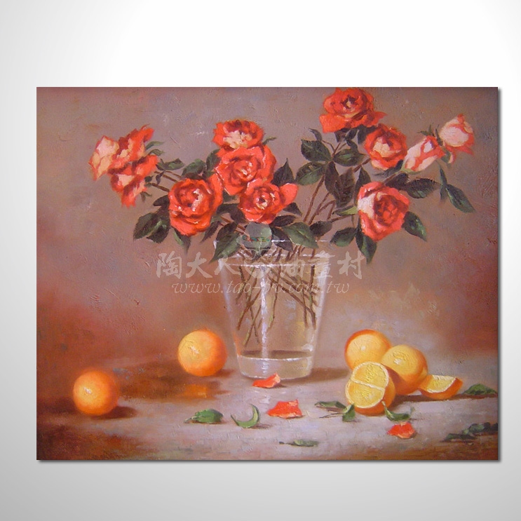 歐洲印象花卉參考圖 12 純手繪 ☆本村提供客製化臨摹畫創作純手繪圖畫 , 歡迎各行各業選購!