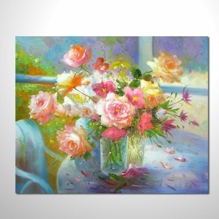 歐洲印象花卉參考圖 13 純手繪 ☆畫作琳琅滿目 , 陸續上架中 , 竭誠歡迎您點閱鑑賞。