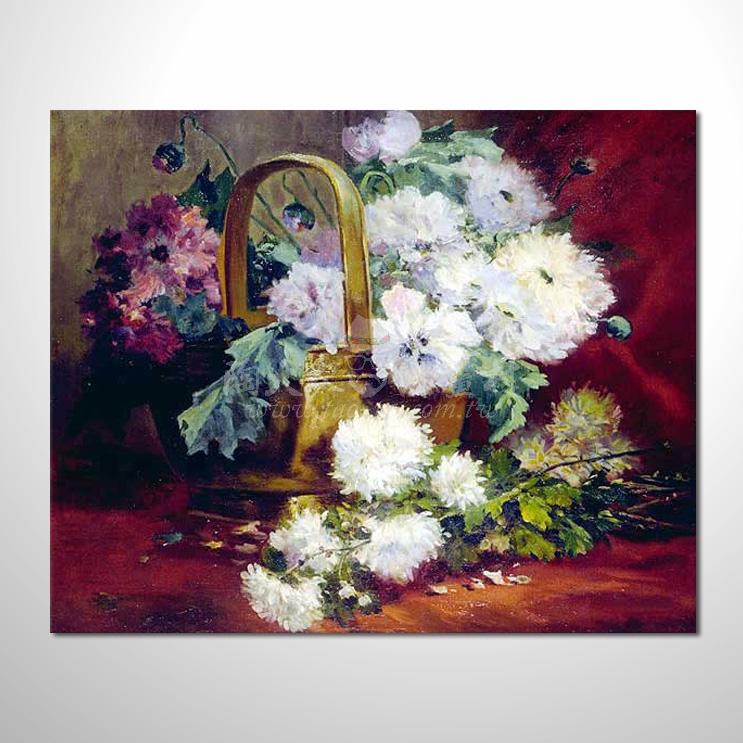 歐洲印象花卉參考圖 24 純手繪 ☆本村提供客製化臨摹畫創作純手繪圖畫 , 歡迎各行各業選購!
