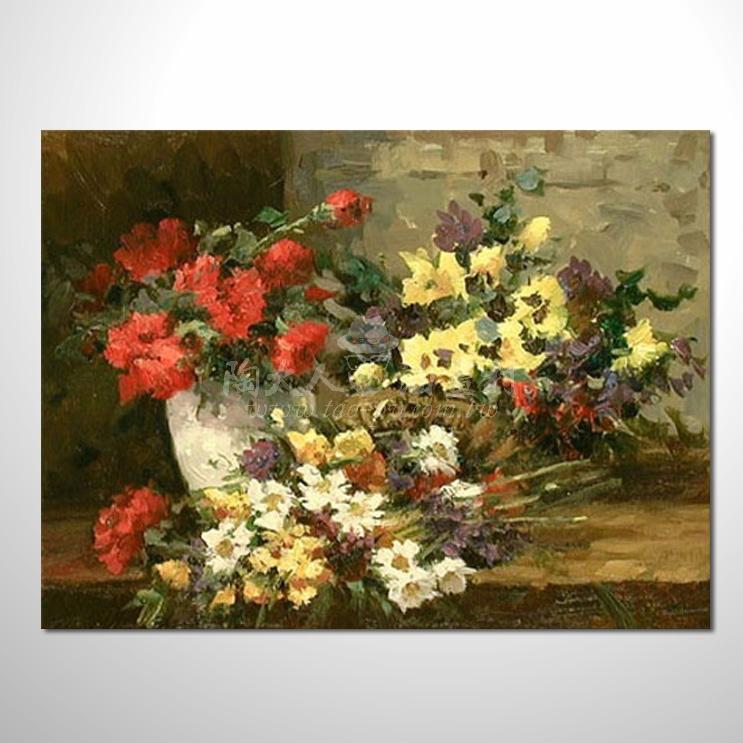 歐洲印象花卉參考圖 31 ☆本村的臨摹畫作皆一筆一劃辛苦純手繪而成 , 非複印品。