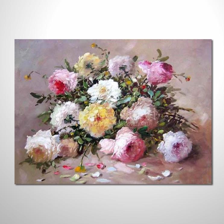 歐洲印象花卉參考圖 32 純手繪 ☆本村提供客製化臨摹畫創作純手繪圖畫 , 歡迎訂購!
