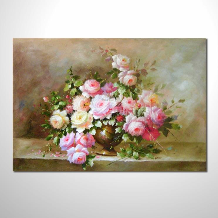 歐洲印象花卉參考圖 37 純手繪 ☆您只要提供相片、字畫、圖像…就能讓您進入留下人生青春、意境、懷舊、紀念的時光。