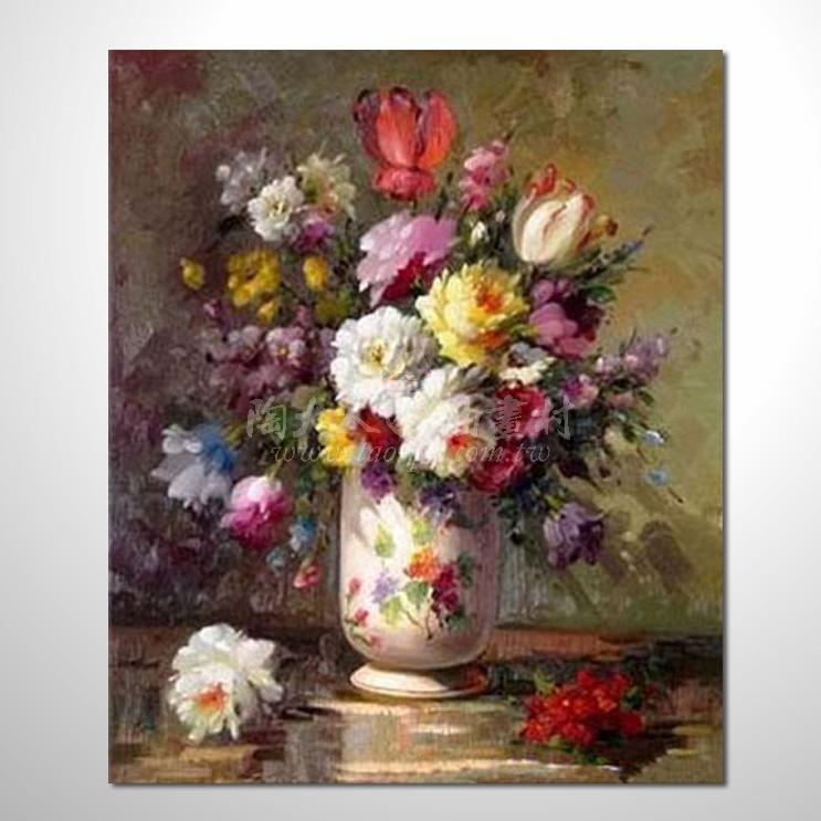 歐洲印象花卉參考圖 43 純手繪 ☆歡迎各行各業大量訂製與長期配合。
