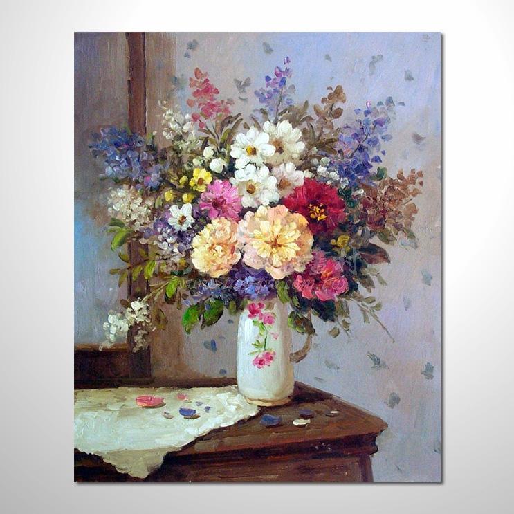 歐洲印象花卉參考圖 53 ☆本村的臨摹畫作皆一筆一劃辛苦純手繪而成 , 非複印品。