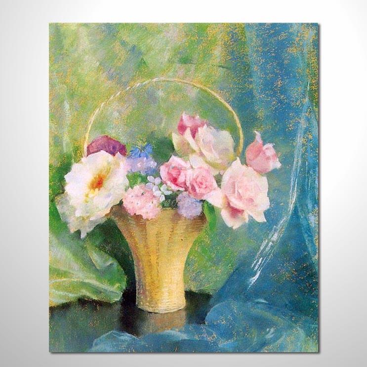 歐洲印象花卉參考圖 55 ☆本村的臨摹畫作皆一筆一劃辛苦純手繪而成 , 非複印品。