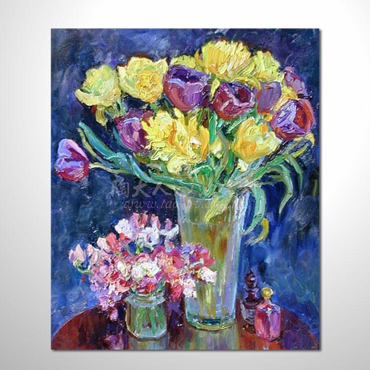 歐洲印象花卉參考圖 56 純手繪 ☆歡迎各行業大量訂製與長期配合。