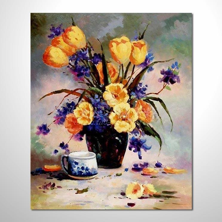 歐洲印象花卉參考圖 57 ☆本村的臨摹畫作皆一筆一劃辛苦純手繪而成 , 非複印品。