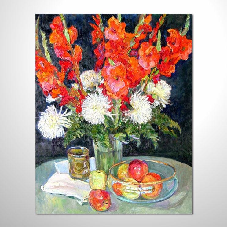 歐洲印象花卉參考圖 62 ☆本村的臨摹畫作皆一筆一劃辛苦純手繪而成 , 非複印品。