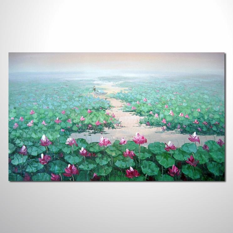 精彩荷塘之夏參考圖-橫26  純手繪 ☆畫一張有情趣、有人生色彩的故事畫!歡迎來電 : 0972-726300 或 加入 Line : tao.pv