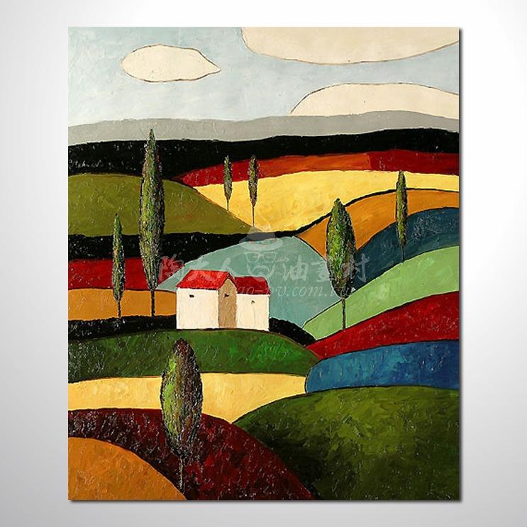 精彩風景參考圖33 純手繪 ☆畫一張有情趣、有人生色彩的故事畫!